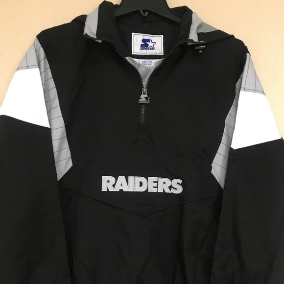 sneakers for cheap 82b4e 3c917 Oakland Raiders STARTER Jacket - Men's - NFL Lic NWT
